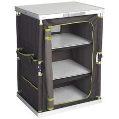 Coleman Instant Up Cupboard - Storage - Furniture - Camping and Tramping Gear - Outdoor Action Online Store - rugged life Camping Bedarf, Camping Storage, Camping Tools, Camping Supplies, Camping Equipment, Outdoor Camping, Family Camping, Camping Ideas, Camping Style