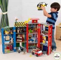 Are you looking for great Kids Police Playsets? These make great playsets for kids as they pretend to be policemen.    Click here to see Amazon's...