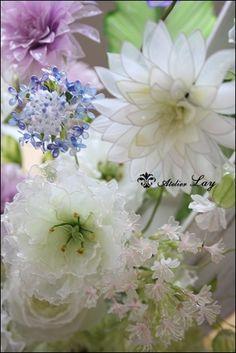 愛犬とお花に癒されて・・・