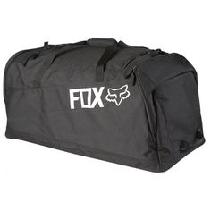 Fox Racing Podium 180 Sports Gear Bag - Black / One Size: A great bag for a great price. The Podium 180 features a large main compartment and large boot compartments on each end. Fox Motocross Boots, Youth Motocross Gear, Yamaha Motocross, Enduro Motorcycle, Motorcycle Luggage, Dirt Bike Suits, Dirt Bike Riding Gear, Tactical Duffle Bag, Motorcycle Saddlebags