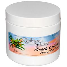 Caribbean Solutions, Beach Colours, Natural Self Tanner, 6 oz - iHerb.com i like that this product doesn't have as many ingredients and chemicals as others.