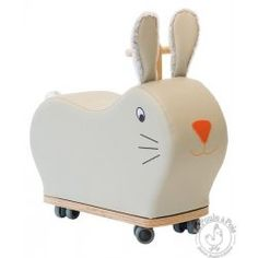 Porteur lapin roues folles - Moulin Roty