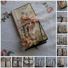 A skinny mini using Graphic 45 - A Ladies Diary...