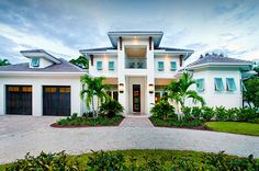 Awesome Two Story House Plans with Balconies Two Story House Plans with Balconies . Awesome Two Story House Plans with Balconies . House Plans One Story, Ranch House Plans, Dream House Plans, Story House, House Floor Plans, Bed Story, Story Story, Story Ideas, Florida House Plans
