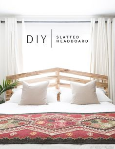 If you've been following along with Tyler's Scandi Sanctuary Makeover you are well versed in the dilemmas that I faced with the design. The biggest one being the bed and the fact that it had to live i
