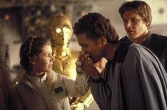 Star Wars: Episode V - The Empire Strikes Back publicity still of Harrison Ford, Billy Dee Williams, Carrie Fisher & Anthony Daniels Carrie Fisher, Charlie Watts, Harrison Ford, Star Wars Poster, Star Wars Art, Star Wars Episode 5, Star Wars Saga Completa, Starwars, Dark Vader