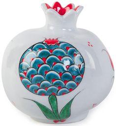 Mehmet Gursoy Turkish Art, Clay Tiles, Fruit Art, Jar Crafts, Islamic Art, Clay Art, Pomegranate Art, Tile Art, Pomegranates