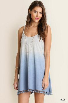 Tassled With Sass Dress