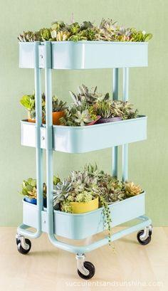 36 Creative Ways To Use The RÅSKOG Ikea Kitchen Cart | Home Decorating Trends | Bloglovin'