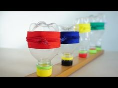 10 ideas of plastic bottles when you decide can recycling it - YouTube