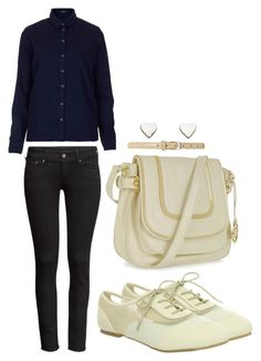 """""""EXO Lay CeCi Magazine Inspired Outfit"""" by smokingcrayonz ❤ liked on Polyvore featuring Topshop, H&M, Wanted, Michael Kors, Therapy and Fat Face"""