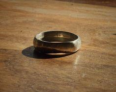 OakTown Rings:  Silver Wedding Band