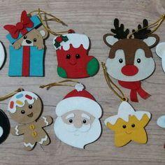 Christmas Baking Gifts, Wooden Christmas Crafts, Crochet Christmas Ornaments, Christmas Gift Wrapping, Christmas Fun, Christmas Cards, Christmas Decorations, Felt Crafts Diy, Kids Crafts