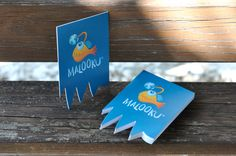 Visitenkarten für Malooku Business Card Design