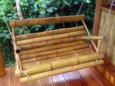 bamboo swing | bamboo swing chair