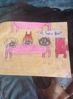 Powerpuff girls says hi to the Super Bros by Kaylee Alexis part 3