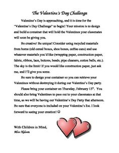 Valentine S Preschool Party Letter To Parents Pictures to Pin on