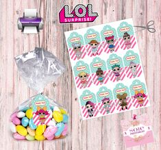 L.O.L Surprise Thank you Tags Instant Download