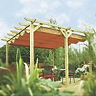 View Rowlinson Verona Wooden Free Standing Canopy - Assembly Required details