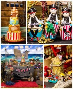 Pirate themed birthday party with Such Cute Ideas via Kara's Party Ideas! Full of decorating ideas, cupcakes, cake, games, and more! #pirateparty #pirate #pirates #boyparty #partydecor #partyideas (2)