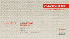 Save the Date | FLEXFORM IMM COLOGNE 2016