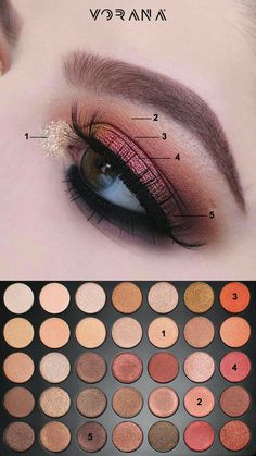 New makeup palette Morphe 350 ideas - New makeup palette Morphe 350 54 + . - New makeup palette Morphe 350 ideas – New makeup palette Morphe 350 ideas – - Beautiful Eye Makeup, Love Makeup, Makeup Inspo, Makeup Inspiration, Grey Makeup, Formal Makeup, Cheap Makeup, Dark Makeup, Makeup Geek