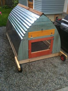 Chicken Tractor - this would be my choice for separating out chickens for breeding pure chicks