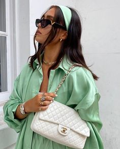 Mode Outfits, Trendy Outfits, Summer Outfits, Fashion Outfits, Womens Fashion, Fashion Trends, Green Outfits, Fashion Killa, Estilo Cool