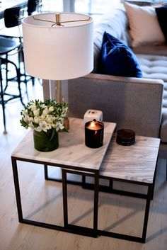 The best collection of Cozy Apartment Living Room Design Ideas Cozy Apartment, Apartment Living, Apartment Therapy, Living Room Storage, Living Room Decor, Living Rooms, Living Room Tables, Living Room No Coffee Table, Living Room End Tables With Drawers