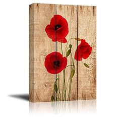 Wall26 - Canvas Prints Wall Art - Poppy Flowers on Vintag... https://smile.amazon.com/dp/B015PZYSQ6/ref=cm_sw_r_pi_dp_x_GkplybC49VJ0Z