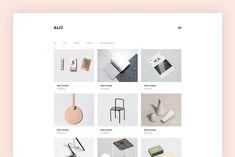 Alio - Minimal Portfolio Theme by AZ-Theme on @creativemarket