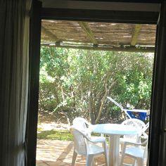 Window View from Perdepera Resort in Sardinia