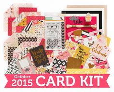 Yes, Virginia...: Working with Pattern Paper (October Card Kit)