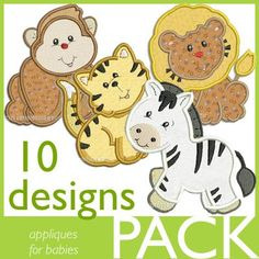 Free Embroidery Designs, Cute Embroidery Designs  $11.97  cuteembroidery.com