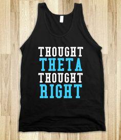 Kappa Alpha Theta: Thought Theta, Though Right