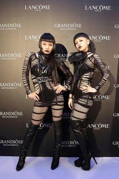 Ayabambi Aya Sato And Bambi, Harajuku Japan, Neon Noir, Portrait Images, Funky Fashion, Gothic Lolita, Asian Woman, Vogue, Poses