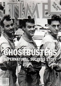 """Ghostbusters. Life changing for me."