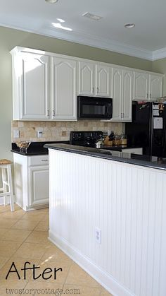 Two Story Cottage: Abby's White Kitchen Transformation
