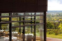 View over the private vineyard at Le St James near Bordeaux ©hotel le St James Saint James, Jean Nouvel Architecture, Hotels In France, Restaurants, Mountain Resort, Best Hotels, Amazing Hotels, Seaside, Bordeaux