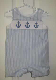 Delicate Stitches Blog | All posts tagged 'anchors smocking design'