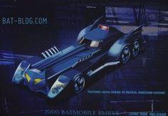 Corgi 2000 batmobile never made