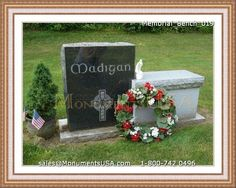 Bench Monuments And Memorials | Bench Tombstone Pictures