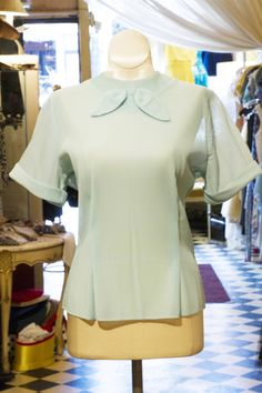 Cabaret Vintage - Ladies Blue Vintage Blouse, $58.00 (http://www.cabaretvintage.com/vintage-dresses/vintage-blouses/ladies-blue-vintage-blouse/)  #vintageblouse #blouse #blouses  #vintage #dressvintage #shopping #vintagestore #vintagefashion #ilovevintage #vintagelove #vintagegirl #vintageshopping #vintageclothing #vintagefinds #vintagelover #vintagelook #followme #skirtoftheday #ootd #shopitrightnow #instastyle #torontovintage #toronto #queenwest #cabaretvintage