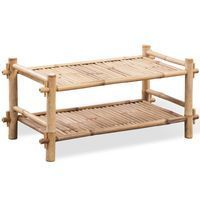 2 Tier Bambus Schuhregal Bamboo Projects 2tier Bamboo