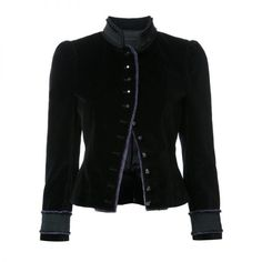 Marc Jacobs   Velvet Victorian Jacket