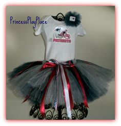 New England Patriots Tutu outfit. Custom made in many sizes and teams. See more at: www.etsy.com/shop/PrincessPlayPlace