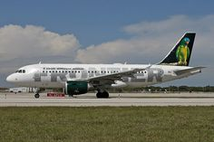 Frontier Airlines N937FR Airbus A319-111 2400 FLL Fort Lauderdale Airport 2012