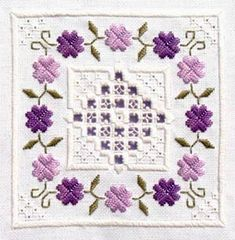 Hardanger.  Wow, this brings back memories.  My mother used to do Hardanger, and I'd completely forgotten.  Unfortunately I don't have anything she did using this method. :(