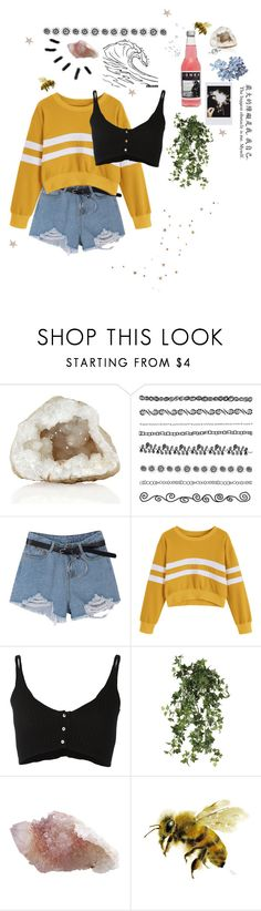 """""""Striped sweater"""" by the-chaos-and-calm ❤ liked on Polyvore featuring Forte Forte, Fujifilm, OKA and Shabby Chic"""