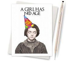 Game Of Thrones. Arya Stark. Happy Name by InLivingColorStudios